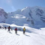 Bernina: Ghiacciaio del Morteratsch